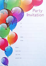Party Invite General Birthday