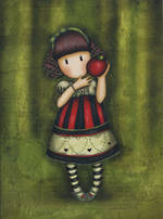 Santoro Eclectic Gorjuss Dear Apple