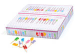 Alphabet & Number Candles Box of 320