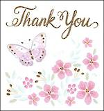 Mini Card Thank You Butterfly