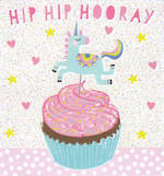 Mini Card Birthday Juvenile Unicorn