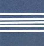 Mini Card Deck Chair Navy Stripes