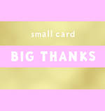 Mini Card Small Talk Thanks