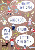 Jumbo Card Pip & Me Retired