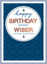 Copper Script Birthday Wiser