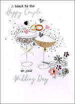 Wedding Card Irresistible Wedding Glasses