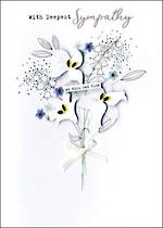 Sympathy Card Irresistible Bouquet