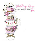 Wedding Card Irresistible Wedding Cake