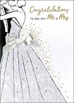 Wedding Card Irresistible Wedding Mr & Mrs