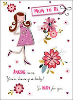 Baby Expecting Card Just To Say Amazing News