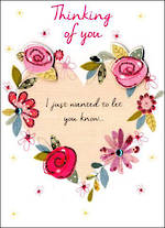 Sympathy Card Thinking of You Just to Say