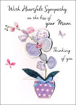 Sympathy Card Loss Of Mum Heartfelt