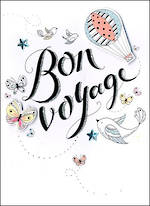 Bon Voyage Card Just To Say