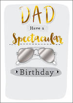 Dad Birthday Card Just To Say Glasses
