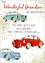 Grandson Birthday Card Just To Say A Wish