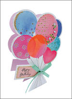 Paper Dazzle Female Balloons