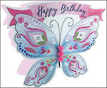 Paper Dazzle Female Butterfly