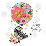 Sublime Birthday Bird & Balloon