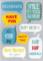 Birthday Card Teen Male Yours Truly Birthday Teen