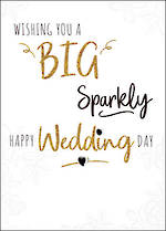 Wedding Card Yours Truly Sparkly
