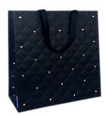 Large Gift Bag General Quilted Ebony