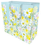 Large Gift Bag Daisy Field