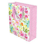Large Gift Bag Cottage Floral