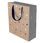 Large Gift Bag Geo Confetti