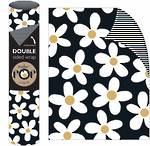 Roll Wrap POP Daisy On Black