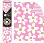 Roll Wrap POP Daisy On Pink