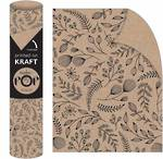 Roll Wrap POP Botanical Kraft