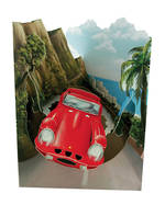 Santoro Swing Cards Red Car