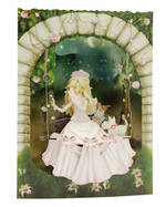 Santoro Swing Cards Princess On Swing
