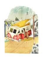 Santoro Swing Cards Campervan