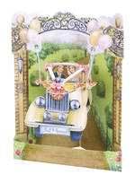 Swing Cards Wedding Car