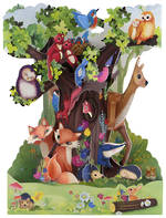 Swing Cards Woodland Animals