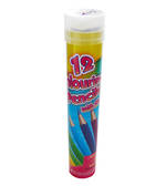 Colouring Pencil Full-size Tube of 12 Pencils
