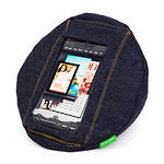 Tabcoosh Tablet Holder Mini Blue Jean