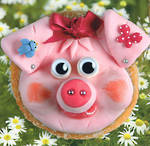 Kids' Birthday Card: Doughnuts Oink