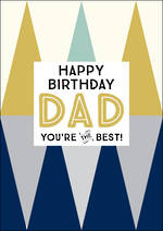Dad Birthday Card Ink The Best