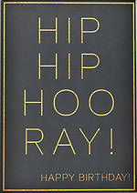 Roam Hip Hip Hooray Birthday