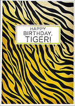 Roam Birthday Tiger