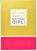 Roam Shine Bright Birthday Girl