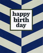 Sasparilla Blue & White Birthday