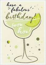 Wish Birthday Green Cocktail