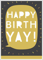 Zephyr Birthday Gold Birthyay