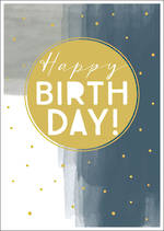 Zephyr Birthday Gold Dots