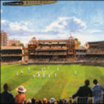 Birthday Card: Cricket At Lords