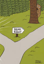 Stand Up Bear Right