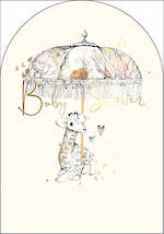 Baby Shower Card Amelie Giraffe